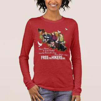 Geben Sie alle drei Wanderer frei Langarm T-Shirt
