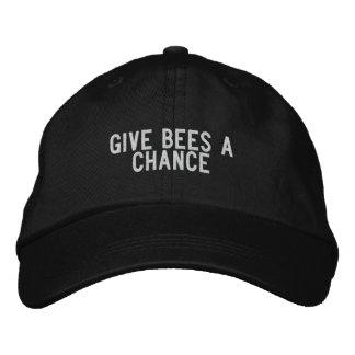 Geben Sie Bienen eine Möglichkeit Baseballcap