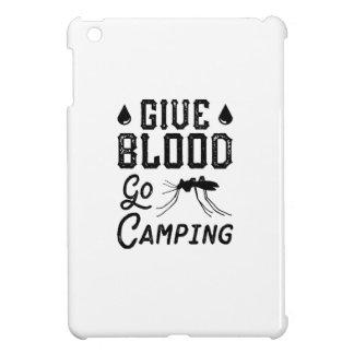 Geben Sie Blut gehen Camping iPad Mini Hülle
