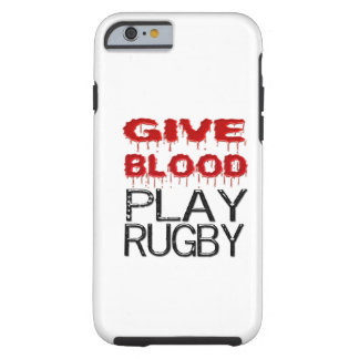 Geben Sie Blut-Spiel-Rugby iPhone 6 Fall Tough iPhone 6 Hülle