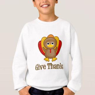 Geben Sie Dank-Erntedank die Türkei Sweatshirt