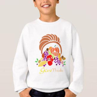 Geben Sie Dank - Horn von viel Sweatshirt