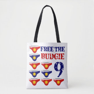 Geben Sie das budgie 9 frei Tasche