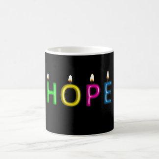 Geben Sie das Geschenk der Hoffnungs-Tasse Kaffeetasse