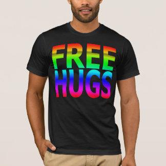 GEBEN Sie der Regenbogen-T - Shirt UMARMUNGEN