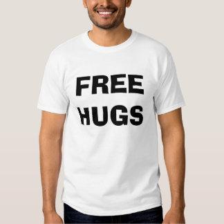 Geben Sie die besonders angefertigten Umarmungen T Shirt