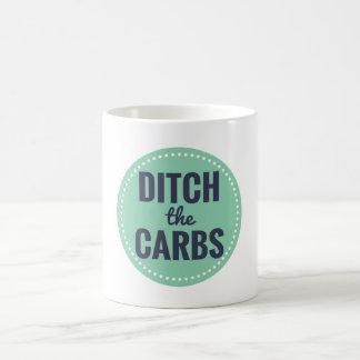 Geben Sie die Vergaser-Tasse mit einem Graben um Kaffeetasse