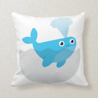 Geben Sie die Wale frei Kissen