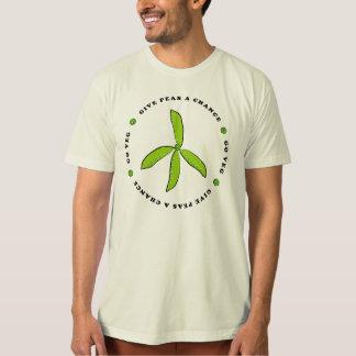 Geben Sie Erbsen eine Möglichkeit Shirts
