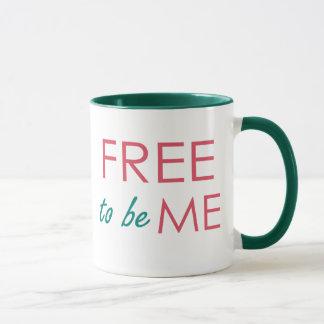 Geben Sie frei, um ICH zu sein inspirierte Tasse