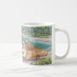 Geben Sie frei, wie ein Kaffeetasse