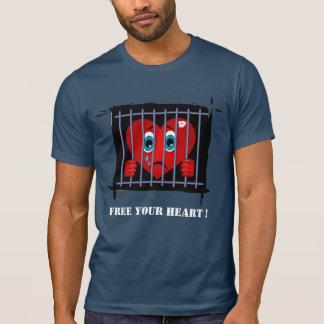 Geben Sie Ihr Herz frei! T-Shirt