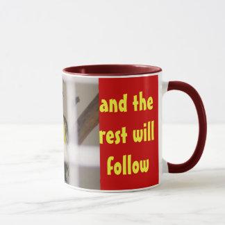 GEBEN Sie IHRE SINNESTasse frei Tasse
