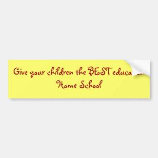 Geben Sie Ihren Kindern die BESTE educationHome Autoaufkleber