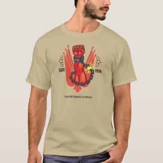 Geben Sie meinen Respekt zu den Handschuhen T-Shirt