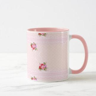 Geben Sie mir Rosen Tasse