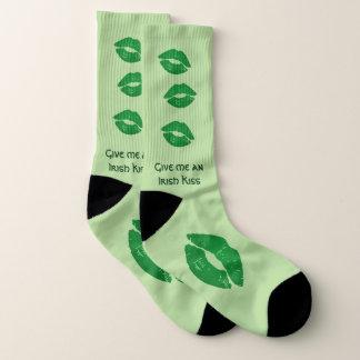 Geben Sie mir Spaß eines irischen Socken