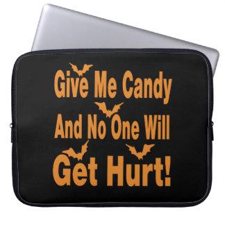 Geben Sie mir Süßigkeit, die niemand verletzt Laptopschutzhülle
