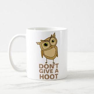 Geben Sie nicht einen Schrei Kaffeetasse