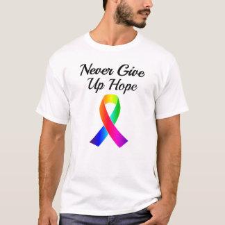 Geben Sie nie den T - Shirt der Hoffnungs-Männer