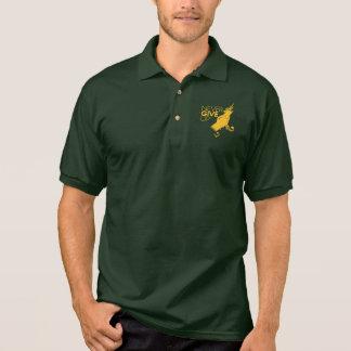 Geben Sie nie der Gildan Jersey der Männer Polo Shirt