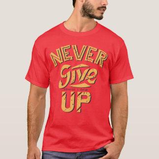 Geben Sie nie T-Stück auf T-Shirt