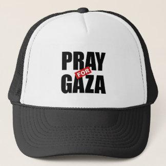 GEBEN SIE PALÄSTINA FREI, BETEN SIE FÜR GAZA, TRUCKERKAPPE
