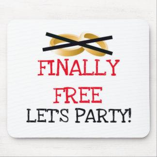 Geben Sie schließlich lassen uns Party frei Mousepads