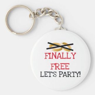 Geben Sie schließlich lassen uns Party frei Schlüsselband