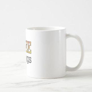 Geben Sie Shrugs frei Kaffeetasse