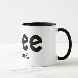 Geben Sie tatsächlich frei Tasse