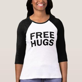 Geben Sie Umarmungen 3/4 Raglan-T-Stück - die T-Shirt