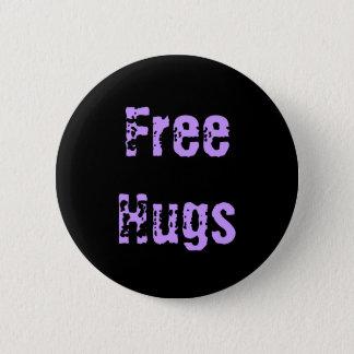 Geben Sie Umarmungen frei Runder Button 5,7 Cm