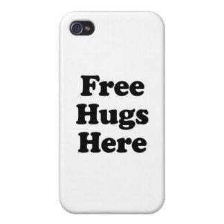 Geben Sie Umarmungen hier frei iPhone 4/4S Hüllen