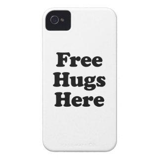 Geben Sie Umarmungen hier frei iPhone 4 Case-Mate Hülle