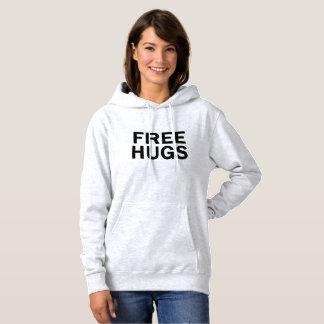 Geben Sie Umarmungenhoodie-Sweatshirt - die Hoodie