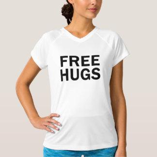Geben Sie Umarmungs-Leistung V - Hals - der T-Shirt