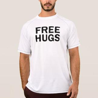Geben Sie Umarmungs-Leistungs-T-Stück - die T-Shirt