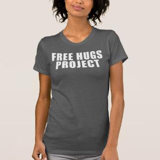 Geben Sie Umarmungs-Projekt-Text-T-Stück - Frauen T-Shirt