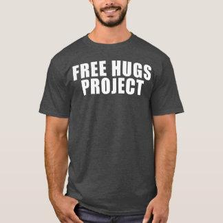 Geben Sie Umarmungs-Projekt-Text-T-Stück frei T-Shirt