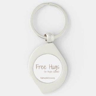 Geben Sie Umarmungs-Schlüsselkette frei Schlüsselanhänger
