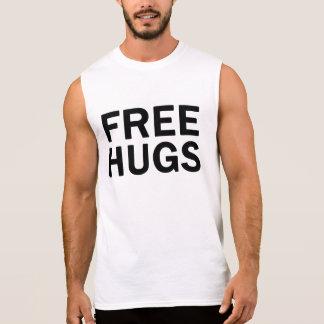 Geben Sie Umarmungs-Turnhallen-Shirt - die Ärmelloses Shirt