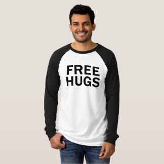 Geben Sie Umarmungs-vollen HülseRaglan - die T-Shirt
