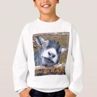 Geben Sie uns einen Kuss! Sweatshirt