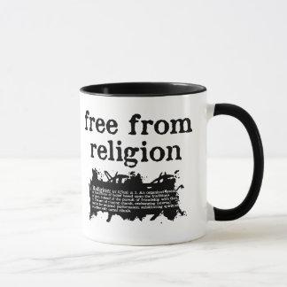 Geben Sie von der Religion frei Tasse