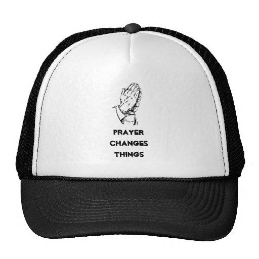 Gebet ändert Sachen Baseballcap