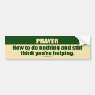 Gebet Autoaufkleber