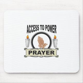 Gebet der Zugang zum Power Mousepad