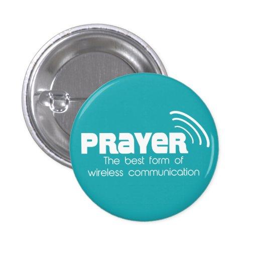 Gebet die beste Form des Kommunikations-Knopfes Anstecknadel