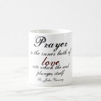 Gebet ist das innere Bad der Liebe Kaffeetasse